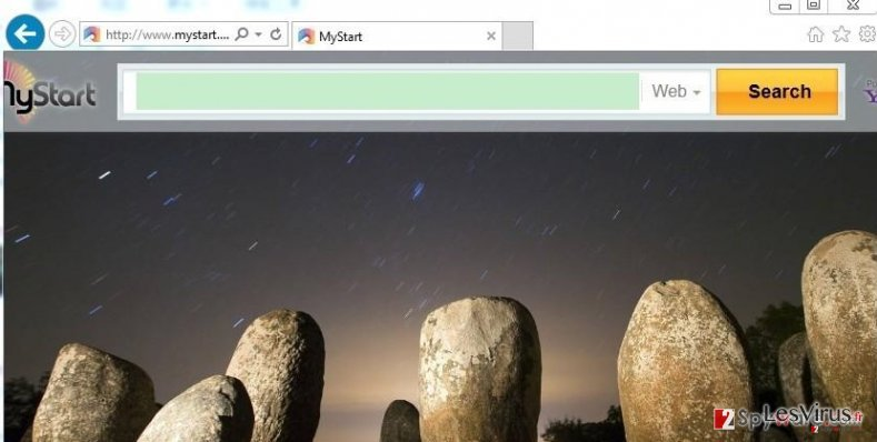 New Tab Search instantané