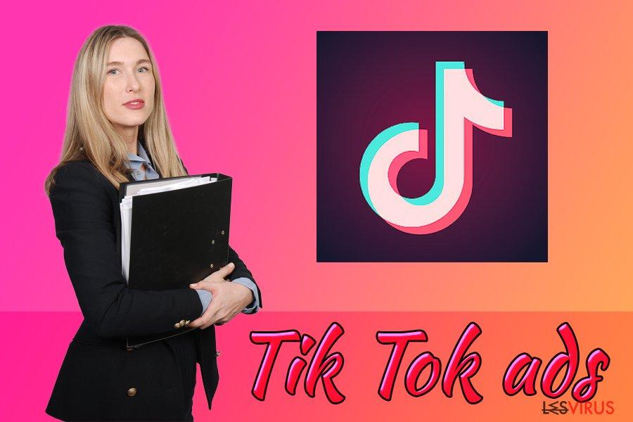 Les annonces Tik Tok