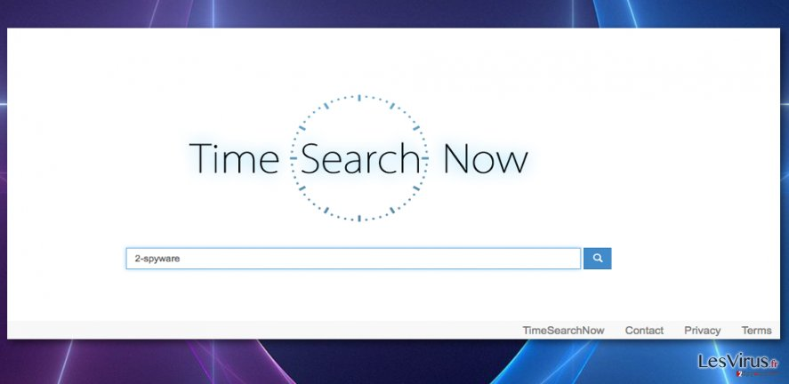 Picture of the Timesearchnow.com virus