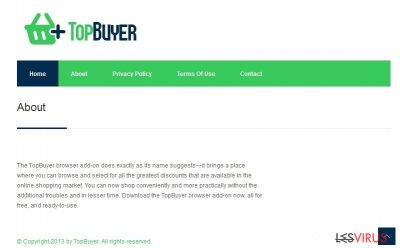 TopBuyer virus