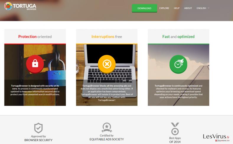 Annonces par Tortuga Browser instantané