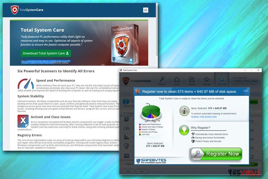 Total System Care instantané