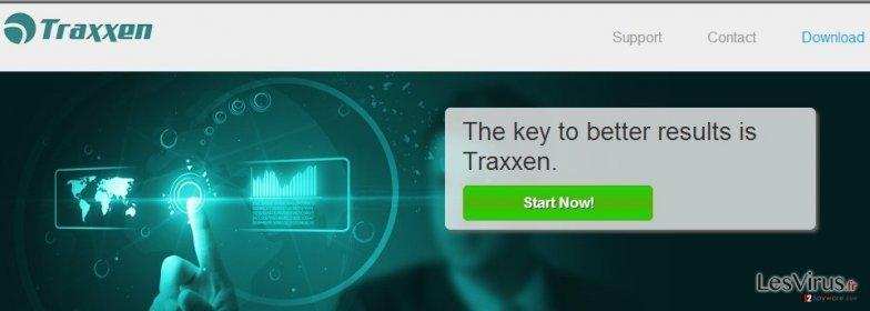 Traxxen adware instantané
