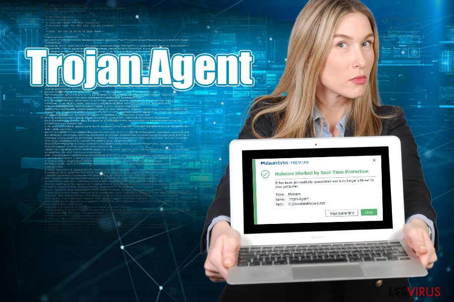 Le virus Trojan.Agent