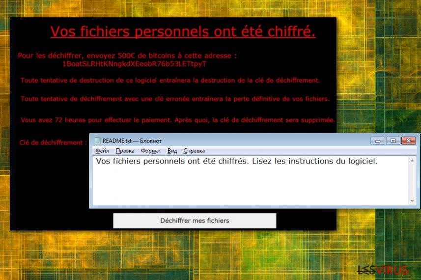 Le logiciel d'extorsion ViroBotnet