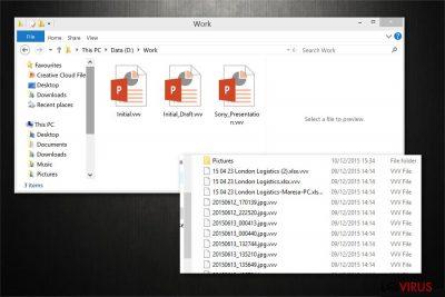 .vvv File Extension virus