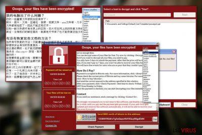 Le virus WanaCrypt0r