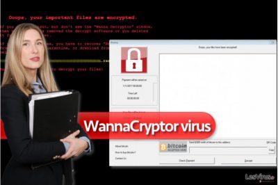 le virus rançongiciel WannaCryptor