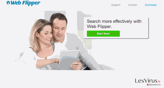 Web Flipper ads instantané
