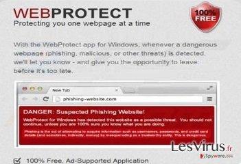 Web Protect virus instantané