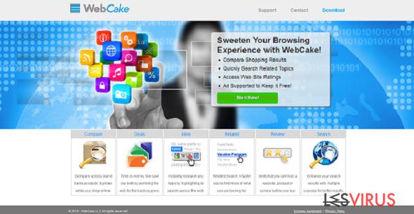 WebCake instantané