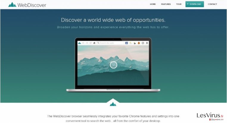 WebDiscover Browser instantané