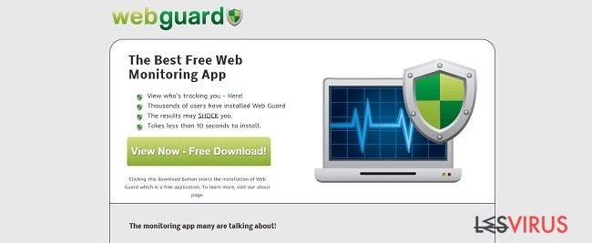 Web Guard virus instantané
