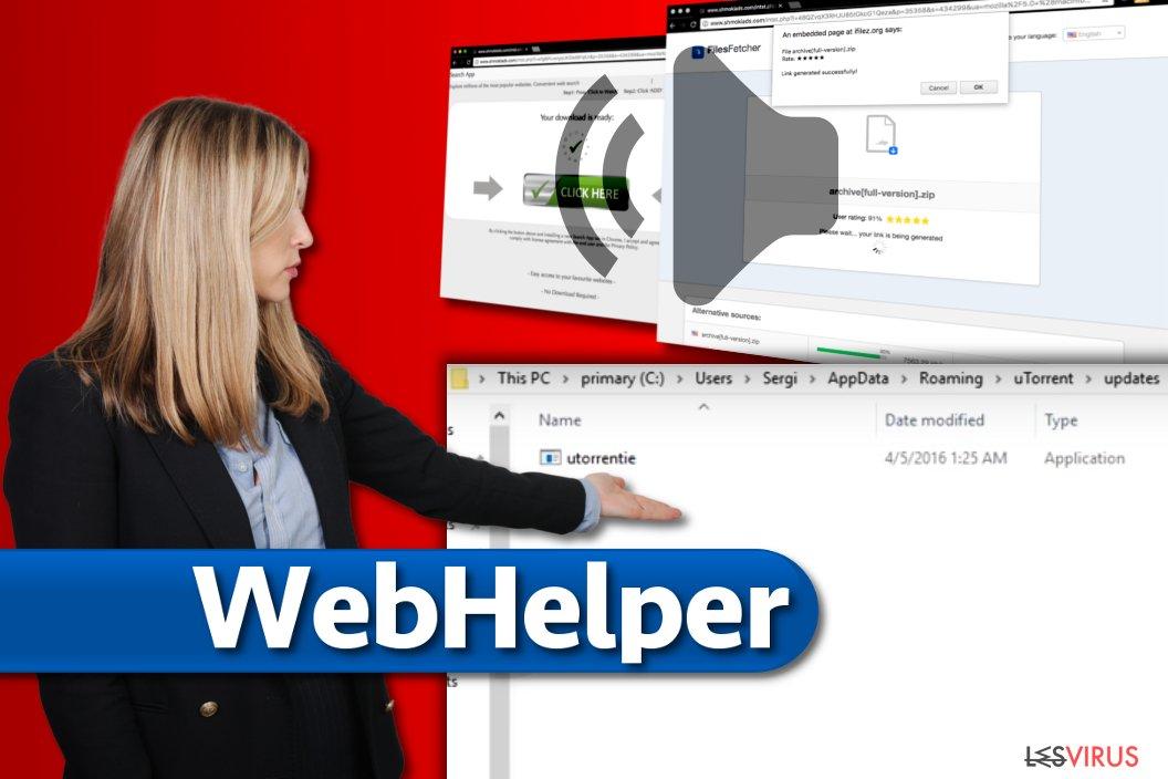 Le virus WebHelper