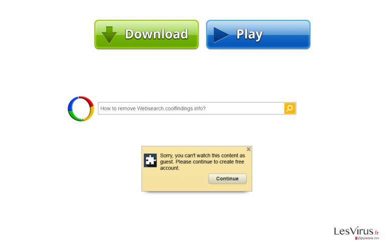 Websearch.coolfindings.info