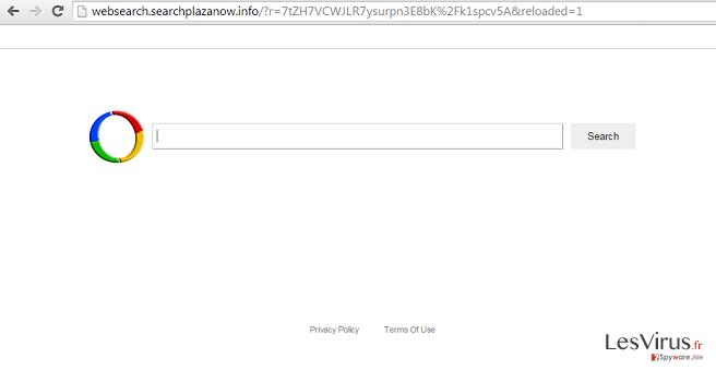 Websearch.searchplazanow.info virus instantané