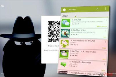 Le virus WeChat