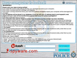 West Yorkshire Police Ukash