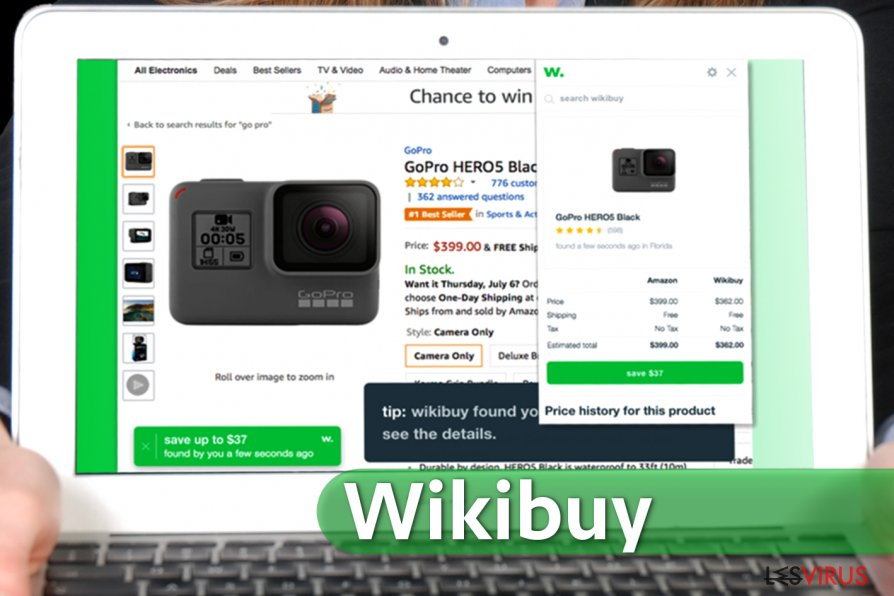 L'extension Wikibuy pour Chrome