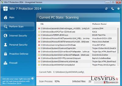 Vista Protection 2014 instantané