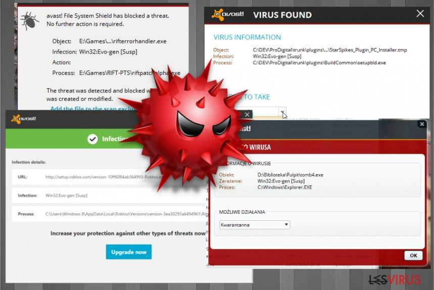 Logiciel malveillant Win32:Evo-gen