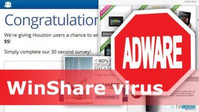 Illustration du virus WinShare
