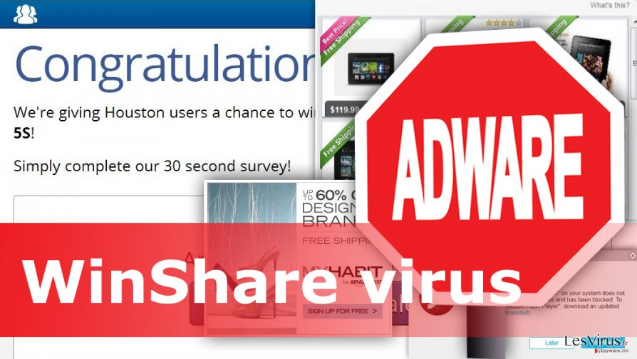 Example of WinShare virus