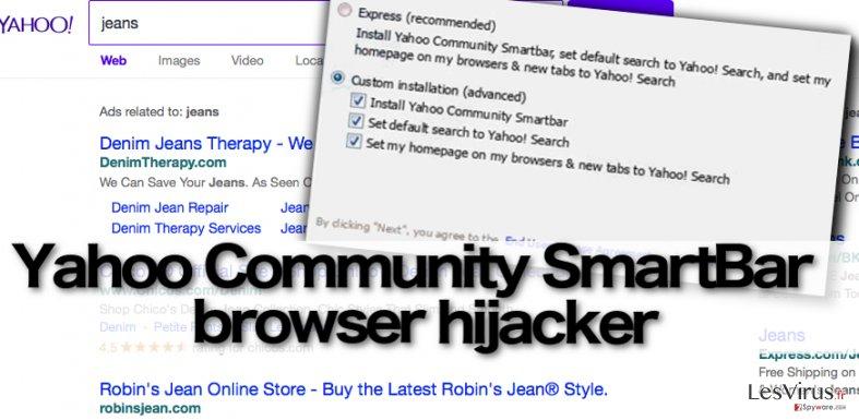 Yahoo Community SmartBar instantané