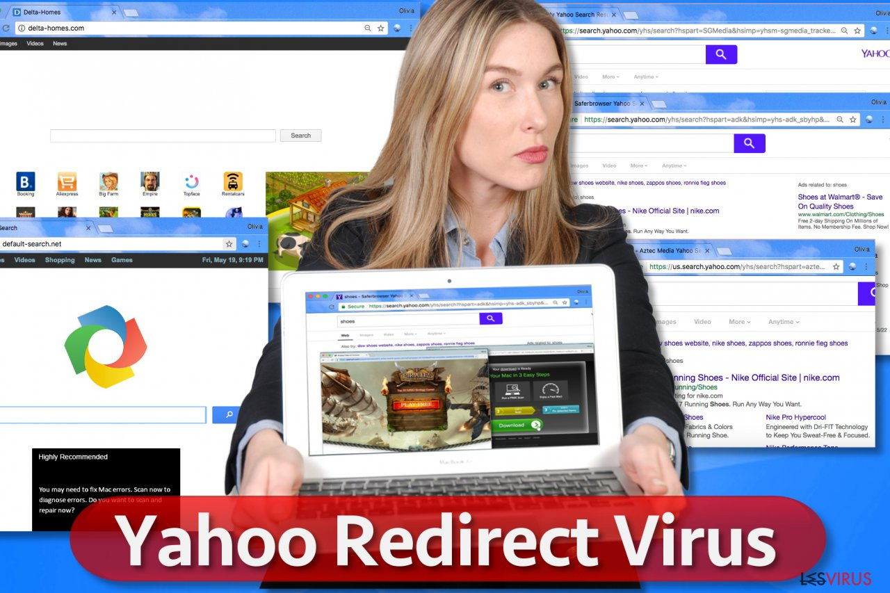 Yahoo Redirect virus