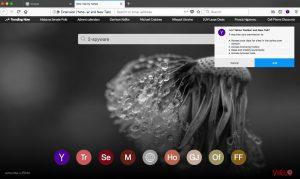 La barre d'outils Yahoo