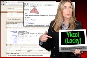 Le virus rançongiciel Ykcol
