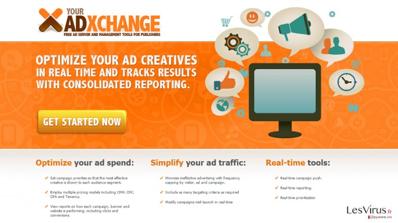 YourAdExchange.com pop-up annonces instantané