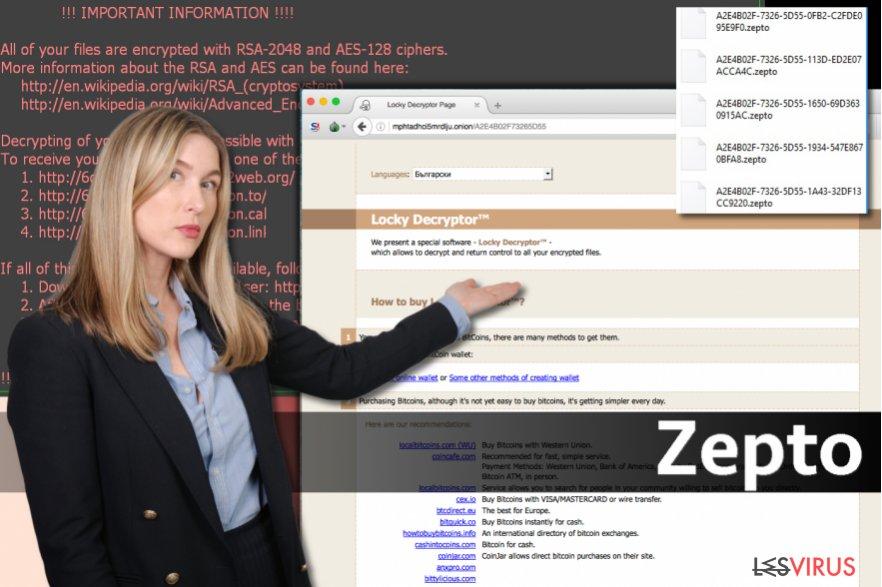 Le virus Zepto